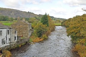 The River Ribble at Horton in Ribblesdale, one of the rivers which has been earmarked for the new salmon catch and release rule. Picture by Tony Johnson.