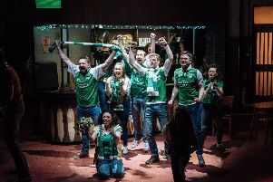 The cast of Sunshine on Leith.