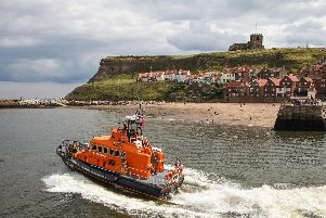 Whitby lifeboat.