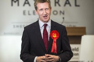 Dan Jarvis, the newly elected mayor of the Sheffield City Region. Picture: Dean Atkins/The Star