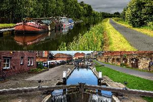 Work has recently begun and progress made on the upgrading of four canal towpaths in Yorkshire
