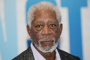 Morgan Freeman. PA