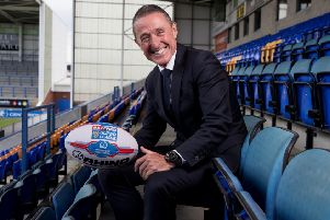 The new BetFred Super League CEO Robert Elstone.