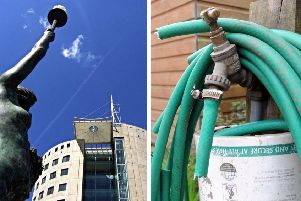 Could there be a hosepipe ban coming?'PICS: Ian Heszelgrave and Simon Hulme