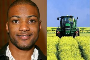 Former JLS star JB Gill has thrown his weight behind an initiative to improve farm safety.