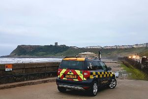 A mass search took place when the diver was reported missing including the RNLI, Coastguard and North Yorkshire Police