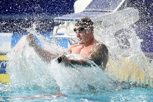 Great Britain's Adam Peaty made a splash at the 2018 European Championships. PIC: Ian Rutherford/PA Wire