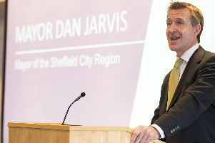 Sheffield City Region Mayor Dan Jarvis. Picture: Dean Atkins