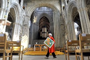The Great North Art Show at Ripon Cathedral