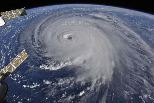 Hurricane Florence is set to batter the East Coast of the US. (Photo: NASA).