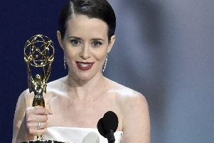 No one who has watched The Crown will begrudge Claire Foy her award. (AP).