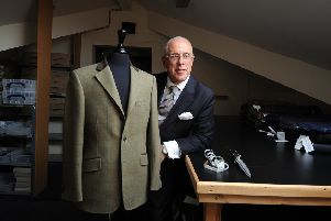Toby Luper of Hemingway Tailors, Leeds..21st September 2018 ..Picture by Simon Hulme