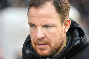 Sam Collins: His York side earned victory in his first official match in charge.