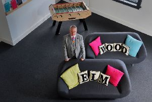 Jonathan Sands, chairman of design agency Elmwood in Leeds. Picture: Tony Johnson