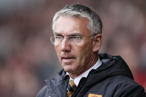Nigel Adkins: Hull City manager saw his side punished for missed opportunities.