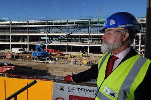 Chairman Jason McGill pictured at the New York City Stadium at Monks Cross. Picture: Simon Hulme.