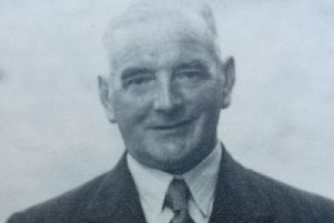 Joseph Carling (pictured) would return to Nidderdale after being demobbed in 1919