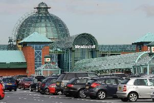 Meadowhall Shopping Centre.