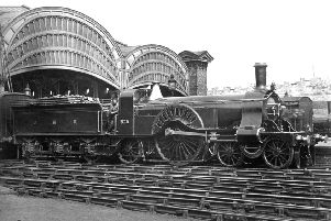 York station with Stirling Single No 5.