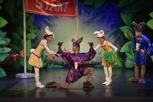 Northern Ballet's production of The Tortoise and the Hare