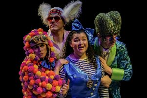 Christmas cheer: Alice in Wonderland at the Stephen Joseph Theatre. (Tony Bartholomew).