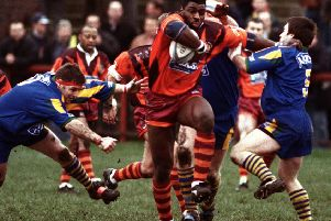 Roy Powell in Batley Bulldogs colours. PIC: Justin Lloyd