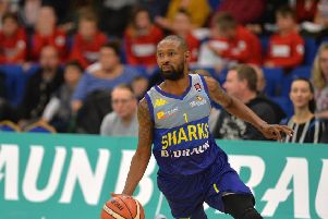 LEADING MAN: Sheffield Sharks' Chris Alexander. Picture: Bruce Rollinson