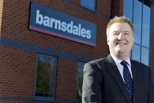 Jason Barnsdale, managing director of Barnsdales. Picture: Shaun Flannery
