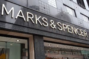 File photo dated 29/5/2018 of a branch of Marks & Spencer