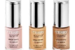 By Terry Gem Glow Brightening CC Serum Set: This lovely skin brightening and illuminating set contains a trip of three of By Terry's most popular Cellularose Brightening CC Serum shades - Rose Elixir, Apricot Flash and Sunny Glow - made with pearl pigments. Use on their own or mix with foundation to leave skin fresh, glowing and even toned. Worth �91, was �65, now �32.50, at Space NK.