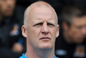 Hull City's then temporary football management consultant Iain Dowie pictured at Wigan in May 2010 (Picture: Nigel French/ PA Wire).