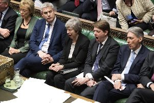 UK Parliament/Jessica Taylor/PA Wire.