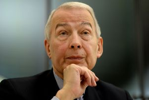 Frank Field MP Photo: Anthony Devlin/PA Wire