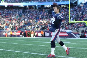 Tom Brady #12 of the New England Patriots will play in his ninth SuperBowl. (Picture: Maddie Meyer/Getty Images)