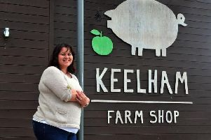 Keelham Farm Shop chief executive Victoria Robertshaw at the company's store in Skipton. Picture by Tony Johnson.