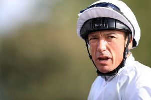 Frankie Dettori returns to action at Lingfield today.