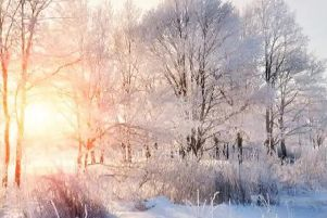 Temperatures reached as low as -4.7C in Yorkshire on Saturday night