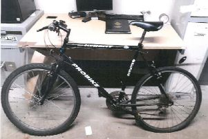 Do you recognise this stolen bike?