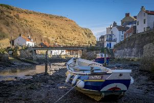 The Environment Agency has awarded Scarborough Borough Council a total of �100,000 in order to develop a long-term strategy to protect the coastal village of Staithes from the ravages of the North Sea. Picture by Marisa Cashill.