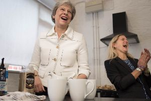 Theresa May gave her backing to the loneliness campaign at an event staged with Lim Leadbeater, the sister of murdered MP Jo Cox.