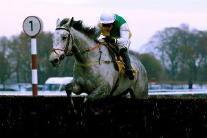 Vintage Clouds, pictured winning at Haydock under Danny Cook, will line up at Cheltenham today for Sue and Harvey Smith.