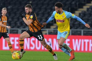 Anthony Forde: Played his part in Rotherham's unlikely second-half comeback at Hull. (Picture: Bruce Rollinson)