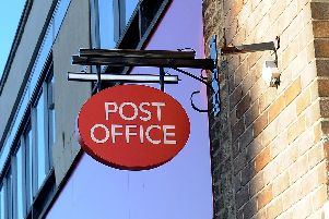 The men tried to exchange the foreign currency at a Post Office branch in Beverley.