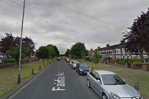 Police are looking for two men in connection with an alleged assault in Hull which left a man with a fractured skull.