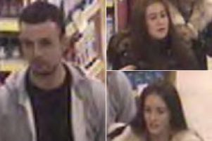 Police would like to speak to these people in connection with the theft from the Wilko in Selby.