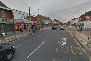 The victim has his ear slashed when he was assaulted in Holderness Road, Hull. Picture: Google