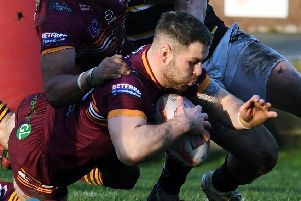 Lewis Galbraith scored two tries in Batley's win over Rochdale.