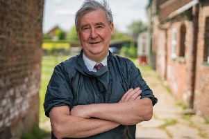 Peter Wright, star of Channel 5's The Yorkshire Vet