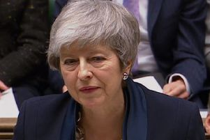Theresa May has offered MPs the chance to potentially delay Brexit.