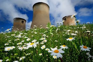 Drax Power Station in Selby tops the list of businesses with the highest rateable values in Yorkshire. Picture by Simon Hulme